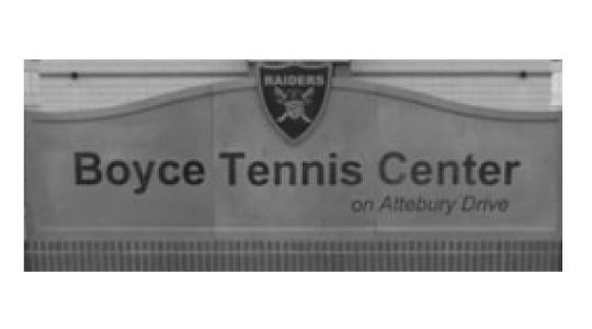 Boyce Tennis Center on Attebury Drive